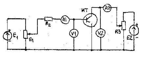 Схема источника постоянного тока на биполярном транзисторе 100 ма Октябрь 30, 2013.